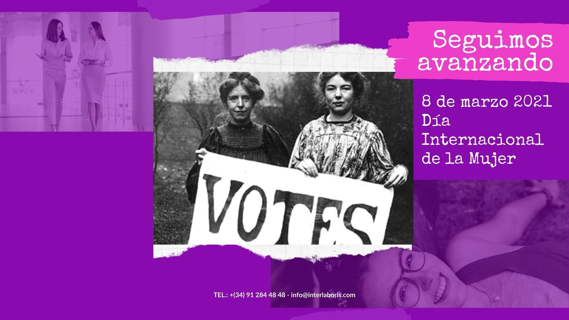 Celebrando la igualdad - Dia Internacional de la Mujer 2021